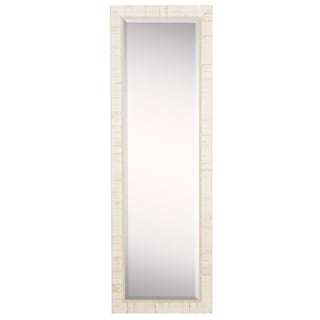 American Made Rayne Tuscan Ivory 20 x 59 Slender Body Mirror