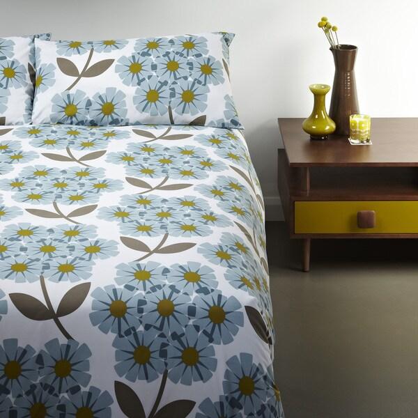 Orla Kiely Floral 3 Piece Duvet Cover Set