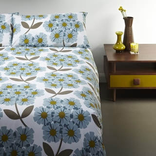 Orla Kiely Floral 3-piece Duvet Cover Set with Additional Shams Available