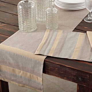 Shimmer Applique Placemats or Napkins (Set of 4) or Table Runner