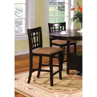 Furniture of America Toureille Counter Height Chairs (Set of 2)