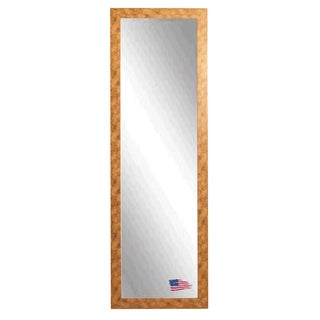 American Made Rayne Gold Stone 19 x 58 Slender Body Mirror