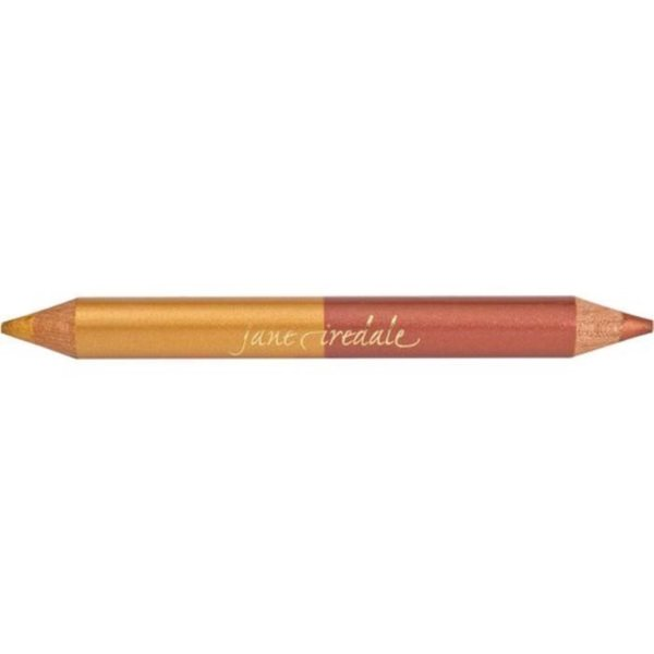 Jane Iredale Double Dazzle Eye Highlighter Pencil with Sharpener