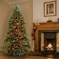 6.5-foot Dunhill Fir Hinged Tree