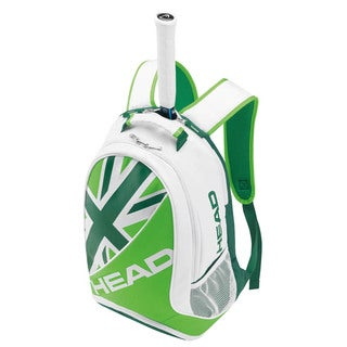Head Murray SE Green and White Tennis Backpack