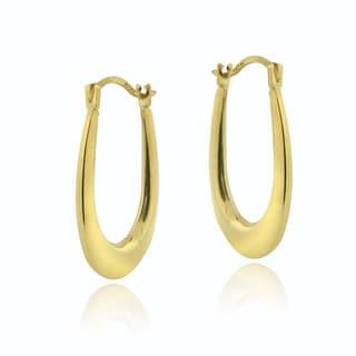 Mondevio 14k Yellow Gold Small Hoop Earrings