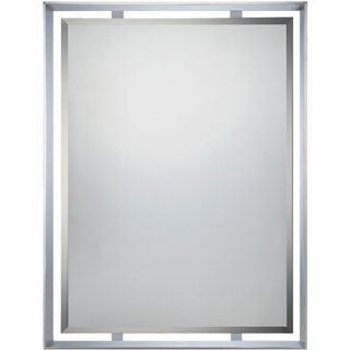 Uptown Ritz Polished Chrome Mirror