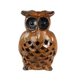 Large Ceramic Owl Vase