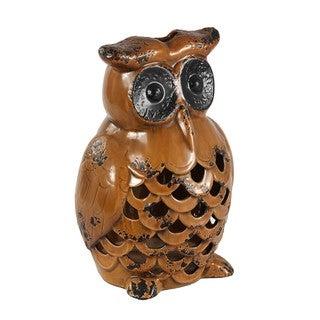 Medium Ceramic Owl Vase