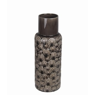 Small Circles Ceramic Vase