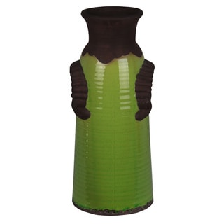 Green Antique Design Ceramic Vase