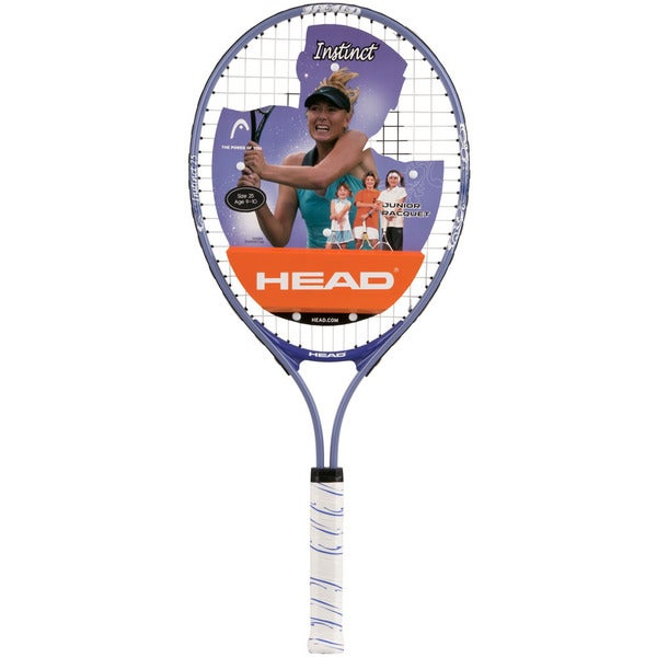 Head Instinct 25 Purple and White Junior Tennis Racquet