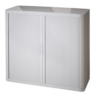 Paperflow EasyOffice 41-inch 2-shelf Storage Cabinet