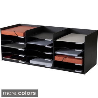 Paperflow EasyOffice 33.75-inch Wide Stackable Horizontal Organizer
