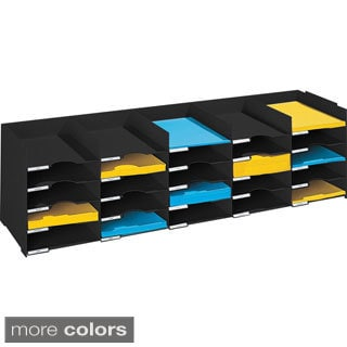 Paperflow 44-inch Wide Stackable Horizontal Organizer