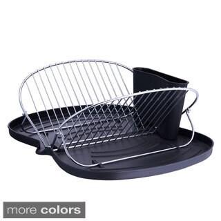 Butterfly-folding Metal Wire Dish Rack