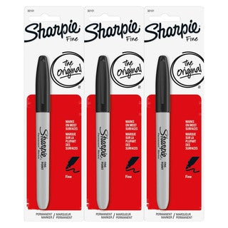 Sharpie Permanent Fine Point Black Ink Marker