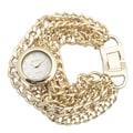 Geneva Platinum Women's Quartz Chain Watch