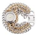 Geneva Platinum Quartz Chain Watch