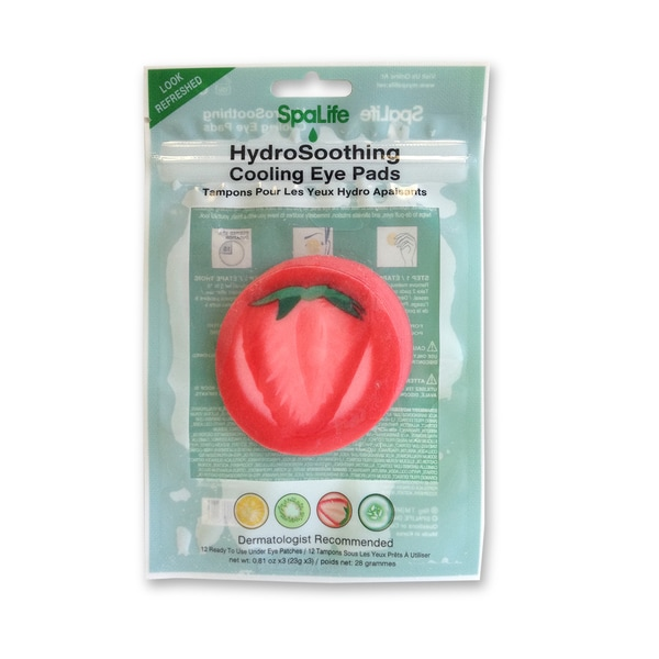 My Spa Life Strawberry Hydro Soothing Cooling Eye Pads