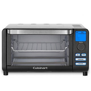 Cuisinart TOB-100BWFR Compact Digital Toaster Oven Broiler (Refurbished)