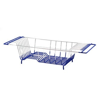 PVC-dipped Metal Wire Narrow Dish Drainer