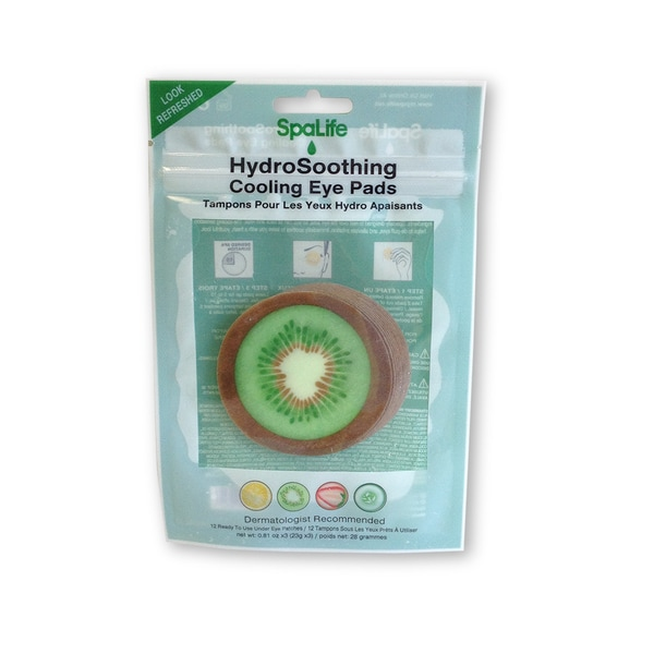 My Spa Life Kiwi Hydro Soothing Cooling Eye Pads
