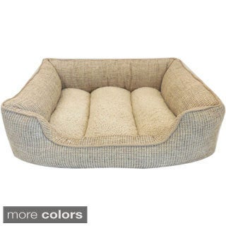 Ethan 34-inch Rectangle Cuddler Pet Bed