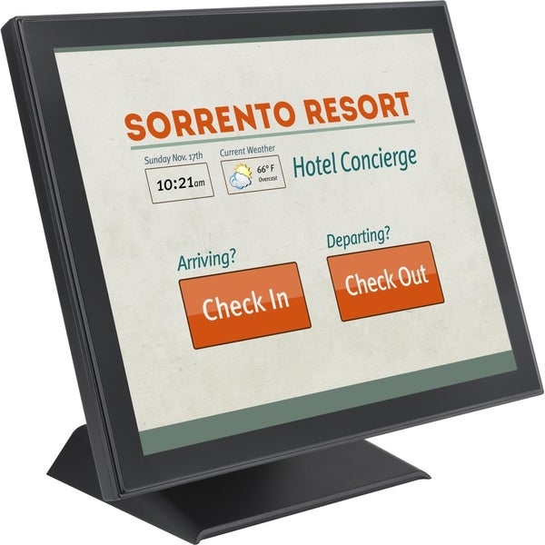 """Planar PT1945P 19"""" Edge LED LCD Touchscreen Monitor - 5:4 - 5 ms"""