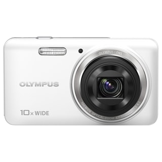 Olympus VH-520 iHS 14 Megapixel Compact Camera - White