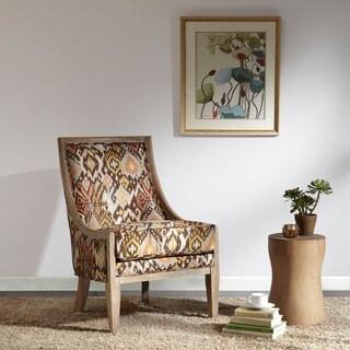 Madison Park Ellen Curved Back Sloped Arm Chair