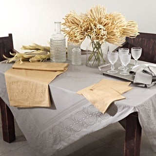 Jacquard Table Runner or set of 4 Napkins