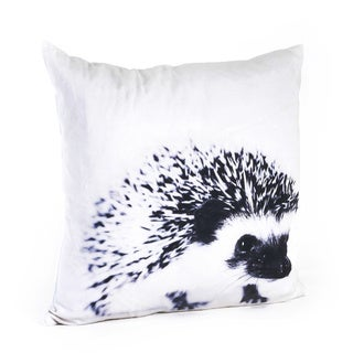 Porcupine Design 20-inch Feather Filled Throw Pillow