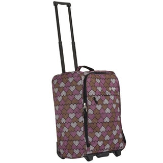 Calpak 'Zorro' Mosaic Heart 20-inch Rolling Carry-on Bag