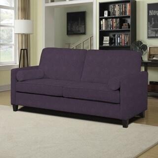 Portfolio Kilby Plum Velvet SoFast Sofa