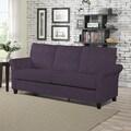 Portfolio Radford Plum Velvet SoFast Sofa