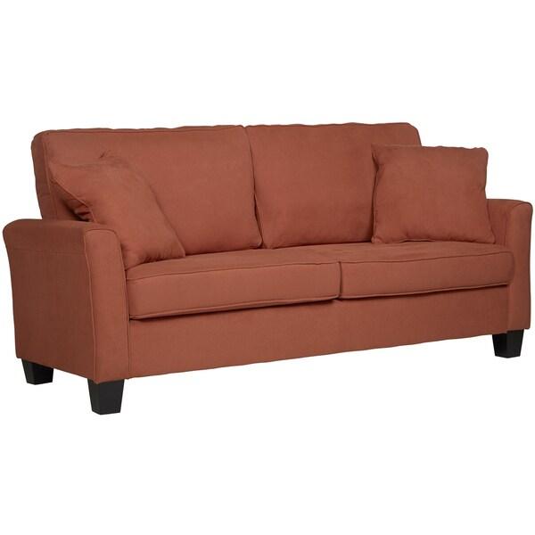 Portfolio Marta Diamond Orange SoFast Sofa