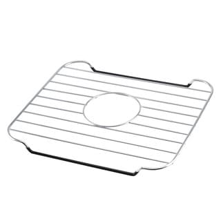 Black Dipped Chrome Metal Wire Sink Saver