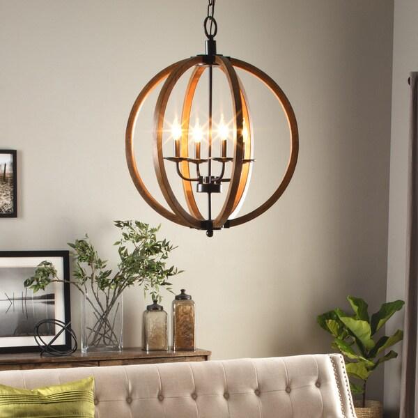 Vineyard Orb 4 Light Chandelier 16602872 Shopping Great Deals On I Love