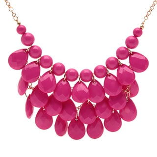Alexa Starr Teardrop Shaky Gemstone Necklace