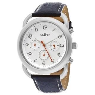 A Line Maya AL-80012-02-BU Silver Watch