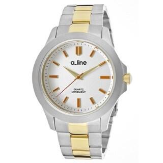 A Line GRA AL-80013-YG-SS-22 Silver Watch