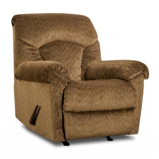 Made to Order Simmons Upholstery Aiden Camel Rocker Recliner