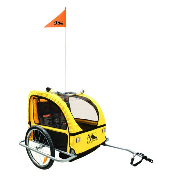 M-Wave Alloy Children's Trailer with Suspension