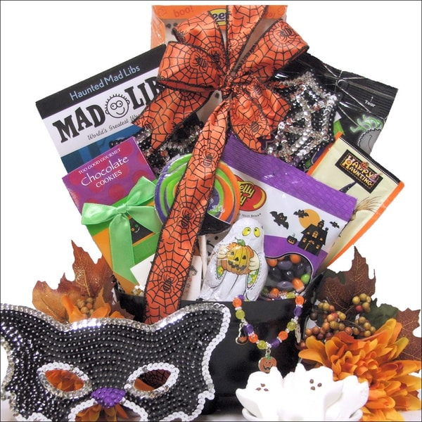 Sparkly & Spooky Fun Halloween Gift Basket for Tween Girl