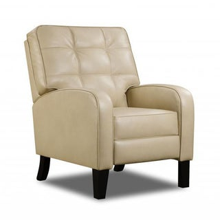 Made to Order Simmons Upholstery Jamestown Champagne Hi Leg Recliner