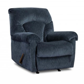 Made to Order Simmons Upholstery Aiden Navy Rocker Recliner