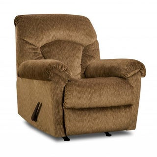 Made to Order Simmons Upholstery Aiden Camel Power Rocker Recliner