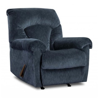 Made to Order Simmons Upholstery Aiden Navy Power Rocker Recliner