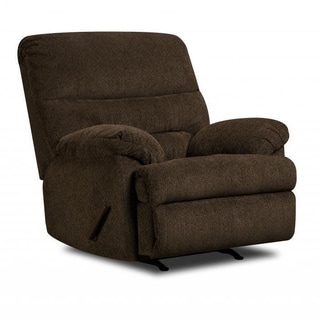 Made to Order Simmons Upholstery Dory Chocolate Rocker Recliner